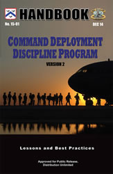 Command Deployment Descipline Program - Handbook